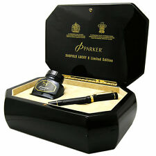 Parker Duofold 2008 Lucky 8 Limited Edition Fountain Pen NEW