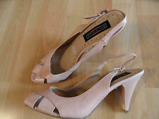 FIFTH AVENUE schöne Leder Sandaletten rosa Nude Gr. 37 NEUw. ZC1115