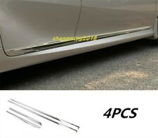 ABS Chrome Door Body Side Molding Cover Trim For Toyota Camry 2018 2019