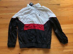Nike Air Jordan Retro 3 Jacket AQ0942 100 Black/White-Red. Men's Size XL