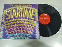 "Startime Dalida Johnny Halliday Moustaki - LP Vinilo 12"" VG/VG 2T"