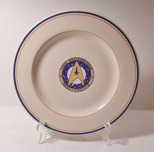 "Pfaltzgraff 1993 STAR TREK VI 10-3/8"" Dinner Plate USS ENTERPRISE NCC-1701-A"