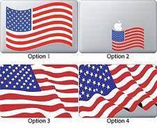 American Flag Decal Sticker Apple Mac Book Air/Pro Dell Laptop USA Skin 13 15 17