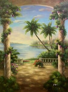 """Fine Art Original Oil Painting On Canvas 36"""" x 48"""" Signed"""