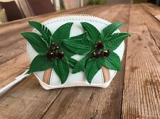 """SOLD OUT! KATE SPADE NEW YORK """"BREATH OF FRESH AIR"""" PALM TREE COIN PURSE, NWT"""