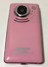 Pink Sylvania HD720P Digital Camcoder Rechargeable Battery 8G SD Card