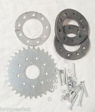 80cc Motor bicycle GAS ENGINE parts - 32 teeth flat sprocket with mount Z