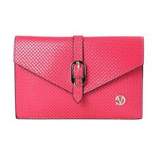 Faux Leather Lady Envelope Clutch Chain Purse Shoulder Cross-body Cellphone Bag