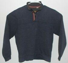 Orvis Blue Men's Pull Over Sweater Size Medium