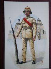POSTCARD ROYAL NORTHUMBERLAND FUSILIERS SHANGHAI 1931 SERGEANT 2ND BTL