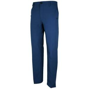 Oakley Take Pro Pant Mens Size 34 L Dark Blue Casual Dress Golf Pants Trousers