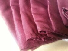 """Lot of 25 17""""x17"""" Burgundy Polyester Linen Napkins For Wedding Birthday Party"""