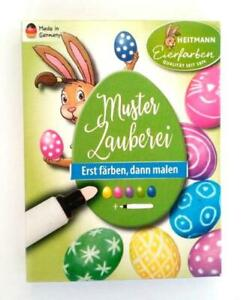 (18,33 € /100ml) Heitmann Muster Zauberei 5 Farben Zauberstift Ostereierfarbe
