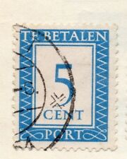 Holland 1930 Early Issue Fine Used 5c. 129801