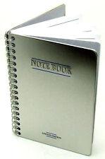 S.T.Y Designs Metal Cover Notebook (16cm x 11cm) Spiral Bound Notebook