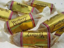 Werther's Soft Caramels 8oz Chews Pink Label Chewy Candy ~ Half Pound Sweets