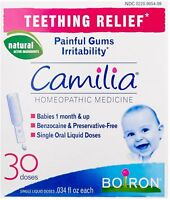 Boiron Camilia Teething Relief Liquid Doses 30 ea