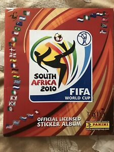 Panini World Cup South Africa 2010: 100% Completed Album vgc