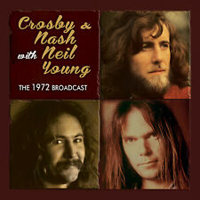 CROSBY NASH & YOUNG 2019 UNRELEASED LIVE 1972 CONCERT CD