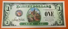 "2014 DISNEYLAND ""SPLASH MOUNTAIN"" SERIES ""A"" DISNEY DOLLAR   LTD. ED."
