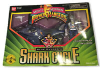 Bandai Mighty Morphin Power Rangers Blue Ranger's Shark Cycle 1995 W/ BOX
