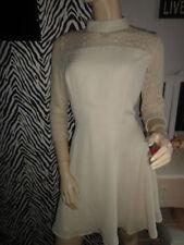 Lace 3/4 Sleeve Skater Formal Dresses for Women
