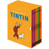Tintin Paperback Boxed Set 23 titles by Herge Paperback NEW 9781405294577