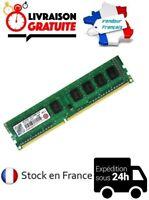 BARRETTE MÉMOIRE RAM TRANSCEND DDR3 2GO 2GB PC3 10600U 1RX8 1333MHZ ORDINATEUR