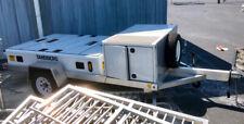 Aluminum Flatbed Utility Trailer - 11' Long x 5' Wide