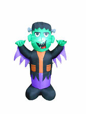 Halloween LED Lighted Air Blown Inflatable Garden Blowup Decoration Frankenstein