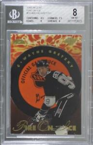 1995-96 Leaf Fire on Ice /10000 Wayne Gretzky #10 BGS 8 HOF