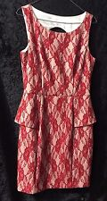 Review Red Ladies Dress Size 12