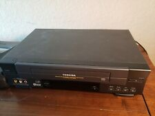 New listing Toshiba W-528 Video Cassette Recorder Hi-Fi Vcr Vhs 4-Head Tested No Remote
