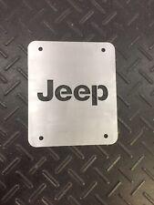 Jeep Wrangler TJ Tailgate Spare Tire Delete Plate 1997-2006 Jeep Plate