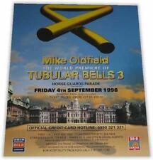 TOUR POSTER~Mike Oldfield Tubular Bells III 3 1998 Horse Guards Parade Original~