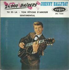 JOHNNY HALLYDAY 24000 BAISERS NEUF EN BLISTER