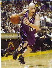 Mike Bibby Sacramento Kings Autographed Signed 8x10 Photo