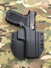 Black Kydex Holster for Glock 17 P80 (Polymer80)