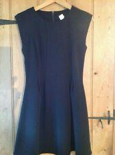 TOP SHOP BLACK MINI DRESS SIZE 10