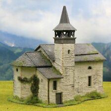 ☝️Diorama H0 Berghaus** Kirche Kibri** Berghof Patiniert #Modellbau aus Potsdam