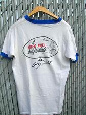 Vintage Greg Noll 1960s surfing tee shirt rare signed surfboard surfer surf