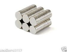 100pcs Small Disc Cylinder Neodymium Magnets 8 x 1 mm Round Rare Earth Neo N50