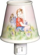 Angelstar Porcelain Night Light Hang in There Angel Kittens