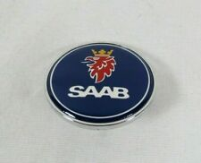 Saab 900 9000 Hood Emblem 79-02 Front Blue/Chrome Badge 93 sign symbol logo (Fits: Saab 9-3)