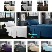Egyptian Comfort 1800 Count 4 Piece Deep Pocket Hotel Luxury Bed Sheet Set 5H