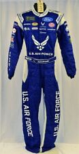 Aric Almirola Petty Air Force Monster Race Used Nascar Driver Fire Suit #6413
