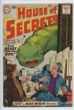 1959 DC HOUSE OF SECRETS #24 2ND MARK MERLIN FN-  S4