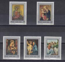 TIMBRE STAMP 5 VATICAN Y&T#522-26 ART PEINTURE RELIGION NEUF**/MNH-MINT 1971~B39