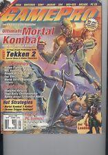 GamePro January 1996 #78 Ultimate Mortal Kombat Meet the Kombat Artist! V 8 I 1