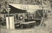 Stepney CT Camp Trefoil Postcard